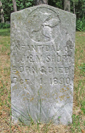 SHORT, INFANT DAUGHTER - Benton County, Arkansas   INFANT DAUGHTER SHORT - Arkansas Gravestone Photos