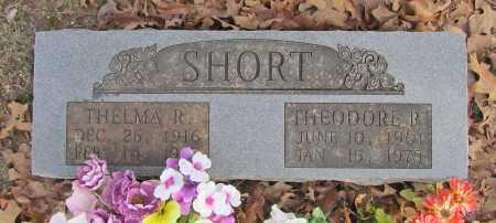 SHORT, THEODORE R. - Benton County, Arkansas | THEODORE R. SHORT - Arkansas Gravestone Photos