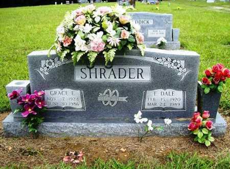 SHRADER, GRACE E. - Benton County, Arkansas   GRACE E. SHRADER - Arkansas Gravestone Photos