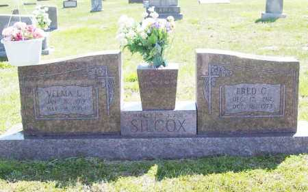 "SILCOX, FRED C. ""MAN"" - Benton County, Arkansas | FRED C. ""MAN"" SILCOX - Arkansas Gravestone Photos"