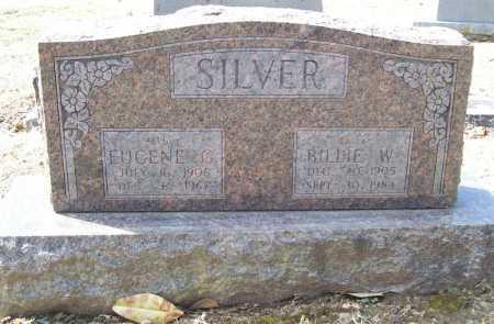 SILVER, BILLIE W. - Benton County, Arkansas | BILLIE W. SILVER - Arkansas Gravestone Photos