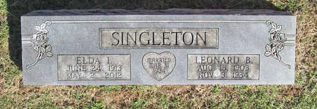 SINGLETON, ELDA IRENE - Benton County, Arkansas | ELDA IRENE SINGLETON - Arkansas Gravestone Photos