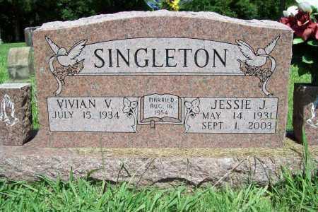 SINGLETON, JESSIE J. - Benton County, Arkansas | JESSIE J. SINGLETON - Arkansas Gravestone Photos