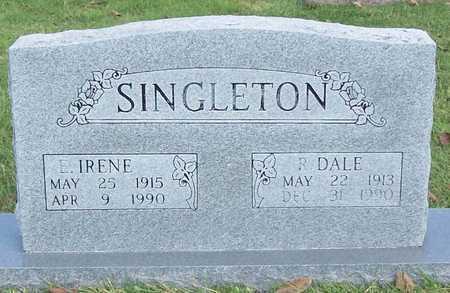 SINGLETON, EDRA IRENE - Benton County, Arkansas | EDRA IRENE SINGLETON - Arkansas Gravestone Photos