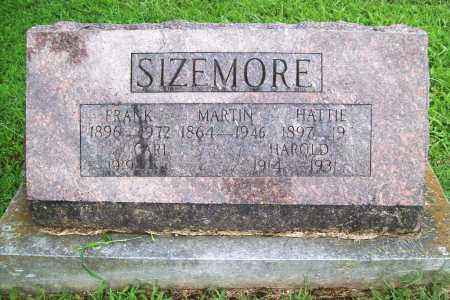 SIZEMORE, HAROLD - Benton County, Arkansas | HAROLD SIZEMORE - Arkansas Gravestone Photos