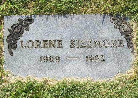 SIZEMORE, LORENE - Benton County, Arkansas   LORENE SIZEMORE - Arkansas Gravestone Photos