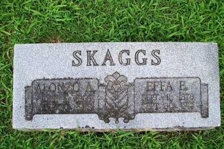 SKAGGS, EFFA E. - Benton County, Arkansas | EFFA E. SKAGGS - Arkansas Gravestone Photos