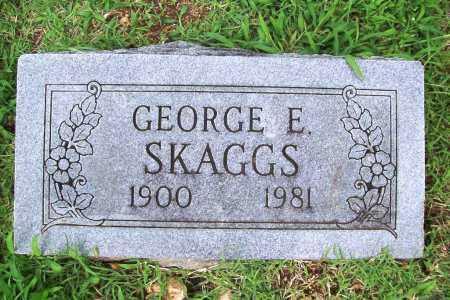 SKAGGS, GEORGE E. - Benton County, Arkansas | GEORGE E. SKAGGS - Arkansas Gravestone Photos
