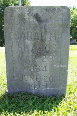 SKAGGS, SARAH M. - Benton County, Arkansas | SARAH M. SKAGGS - Arkansas Gravestone Photos
