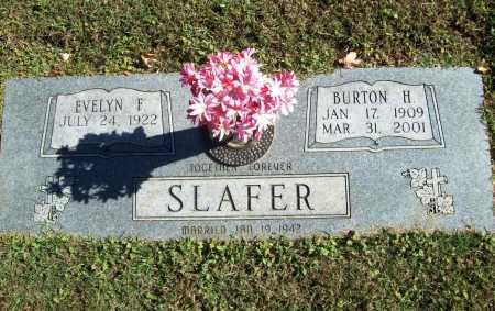 SLAFER, BURTON H. - Benton County, Arkansas | BURTON H. SLAFER - Arkansas Gravestone Photos