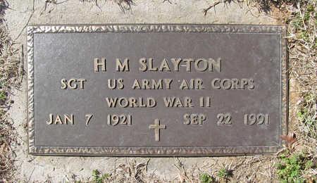 SLAYTON (VETERAN WWII), H M - Benton County, Arkansas | H M SLAYTON (VETERAN WWII) - Arkansas Gravestone Photos