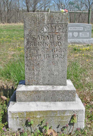 FORD SLINKARD, SARAH ELIZABETH - Benton County, Arkansas | SARAH ELIZABETH FORD SLINKARD - Arkansas Gravestone Photos