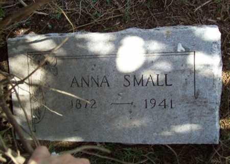 SMALL, ANNA - Benton County, Arkansas | ANNA SMALL - Arkansas Gravestone Photos