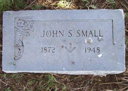 SMALL, JOHN S. - Benton County, Arkansas | JOHN S. SMALL - Arkansas Gravestone Photos