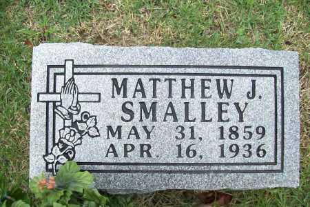 SMALLEY, MATTHEW J. - Benton County, Arkansas | MATTHEW J. SMALLEY - Arkansas Gravestone Photos