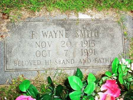 SMITH, F. WAYNE - Benton County, Arkansas   F. WAYNE SMITH - Arkansas Gravestone Photos