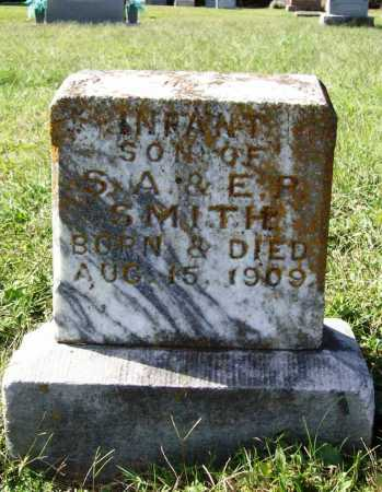 SMITH, INFANT SON - Benton County, Arkansas | INFANT SON SMITH - Arkansas Gravestone Photos