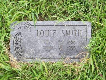 SMITH, LOUIE - Benton County, Arkansas | LOUIE SMITH - Arkansas Gravestone Photos