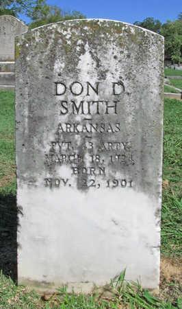 SMITH (VETERAN), DON D - Benton County, Arkansas | DON D SMITH (VETERAN) - Arkansas Gravestone Photos