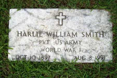 SMITH (VETERAN WWI), HARLIE WILLIAM - Benton County, Arkansas   HARLIE WILLIAM SMITH (VETERAN WWI) - Arkansas Gravestone Photos