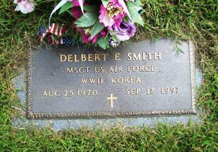 SMITH (VETERAN 2 WARS), DELBERT E - Benton County, Arkansas | DELBERT E SMITH (VETERAN 2 WARS) - Arkansas Gravestone Photos