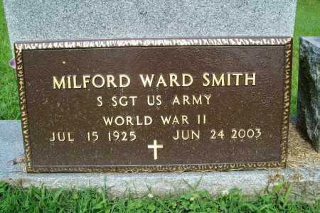 SMITH (VETERAN WWII), MILFORD WARD - Benton County, Arkansas   MILFORD WARD SMITH (VETERAN WWII) - Arkansas Gravestone Photos