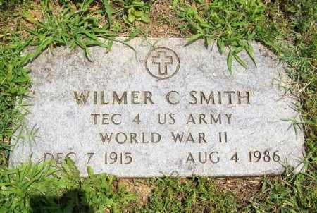 SMITH (VETERAN WWII), WILMER C. - Benton County, Arkansas | WILMER C. SMITH (VETERAN WWII) - Arkansas Gravestone Photos