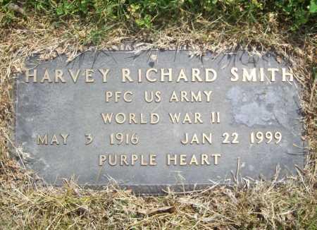 SMITH (VETERAN WWII), HARVEY RICHARD - Benton County, Arkansas | HARVEY RICHARD SMITH (VETERAN WWII) - Arkansas Gravestone Photos