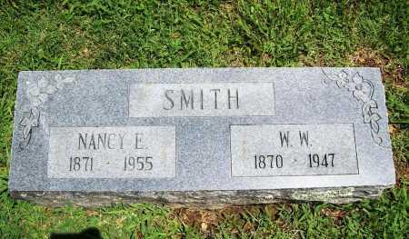 SMITH, NANCY E. - Benton County, Arkansas | NANCY E. SMITH - Arkansas Gravestone Photos