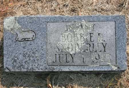 SNODERLY, BOBBIE D. - Benton County, Arkansas | BOBBIE D. SNODERLY - Arkansas Gravestone Photos