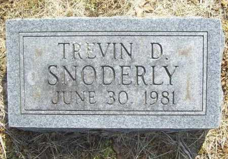 SNODERLY, TREVIN D. - Benton County, Arkansas   TREVIN D. SNODERLY - Arkansas Gravestone Photos