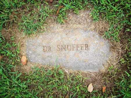 SNUFFER, DR. - Benton County, Arkansas | DR. SNUFFER - Arkansas Gravestone Photos