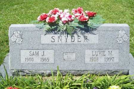 SNYDER, SAM J. - Benton County, Arkansas | SAM J. SNYDER - Arkansas Gravestone Photos