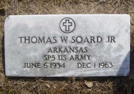 SOARD, JR (VETERAN), THOMAS W - Benton County, Arkansas | THOMAS W SOARD, JR (VETERAN) - Arkansas Gravestone Photos