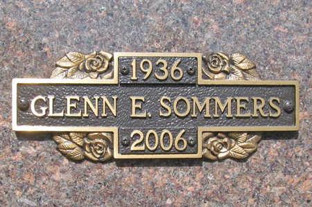 SOMMERS, GLENN E - Benton County, Arkansas   GLENN E SOMMERS - Arkansas Gravestone Photos