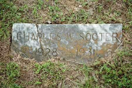 SOOTER, CHARLES W - Benton County, Arkansas | CHARLES W SOOTER - Arkansas Gravestone Photos