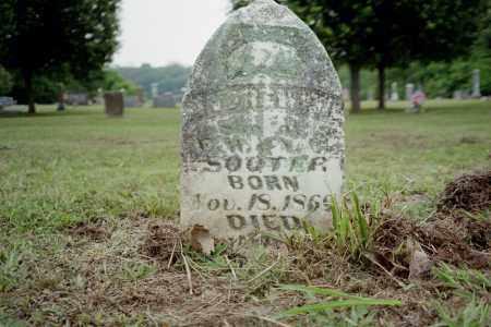 SOOTER, E. W. - Benton County, Arkansas   E. W. SOOTER - Arkansas Gravestone Photos