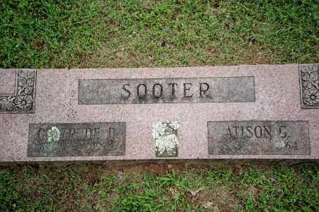 SOOTER, GERTRUDE D. - Benton County, Arkansas   GERTRUDE D. SOOTER - Arkansas Gravestone Photos