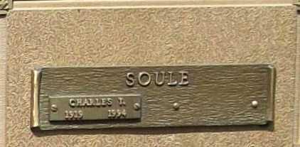 SOULE, CHARLES T. - Benton County, Arkansas | CHARLES T. SOULE - Arkansas Gravestone Photos