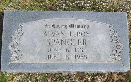 SPANGLER, ALVAN LEROY - Benton County, Arkansas | ALVAN LEROY SPANGLER - Arkansas Gravestone Photos