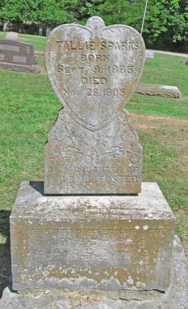 SPARKS, TALLIE - Benton County, Arkansas | TALLIE SPARKS - Arkansas Gravestone Photos