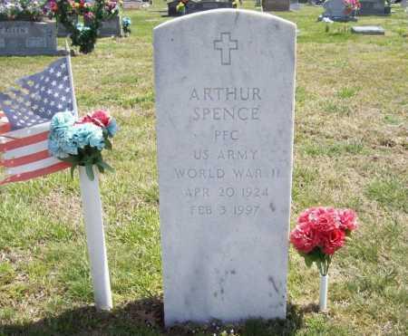 SPENCE (VETERAN WWII), ARTHUR - Benton County, Arkansas   ARTHUR SPENCE (VETERAN WWII) - Arkansas Gravestone Photos