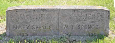 SPENCE, MARY - Benton County, Arkansas   MARY SPENCE - Arkansas Gravestone Photos