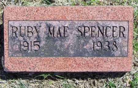 SPENCER, RUBY MAE - Benton County, Arkansas   RUBY MAE SPENCER - Arkansas Gravestone Photos