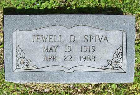SPIVA, JEWELL D. - Benton County, Arkansas | JEWELL D. SPIVA - Arkansas Gravestone Photos