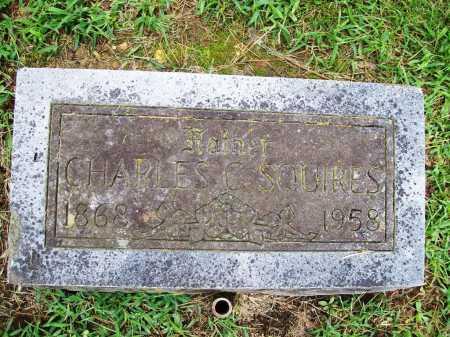 SQUIRES, CHARLES C. - Benton County, Arkansas | CHARLES C. SQUIRES - Arkansas Gravestone Photos