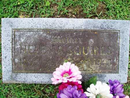 SQUIRES, HELEN B. - Benton County, Arkansas | HELEN B. SQUIRES - Arkansas Gravestone Photos