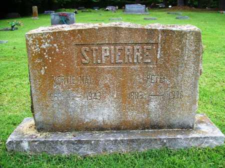 ST.PIERRE, PETER - Benton County, Arkansas | PETER ST.PIERRE - Arkansas Gravestone Photos