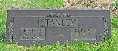 STANLEY, ERSIE M - Benton County, Arkansas   ERSIE M STANLEY - Arkansas Gravestone Photos