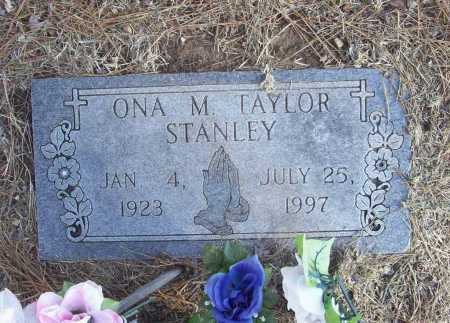 TAYLOR STANLEY, ONA M. - Benton County, Arkansas | ONA M. TAYLOR STANLEY - Arkansas Gravestone Photos